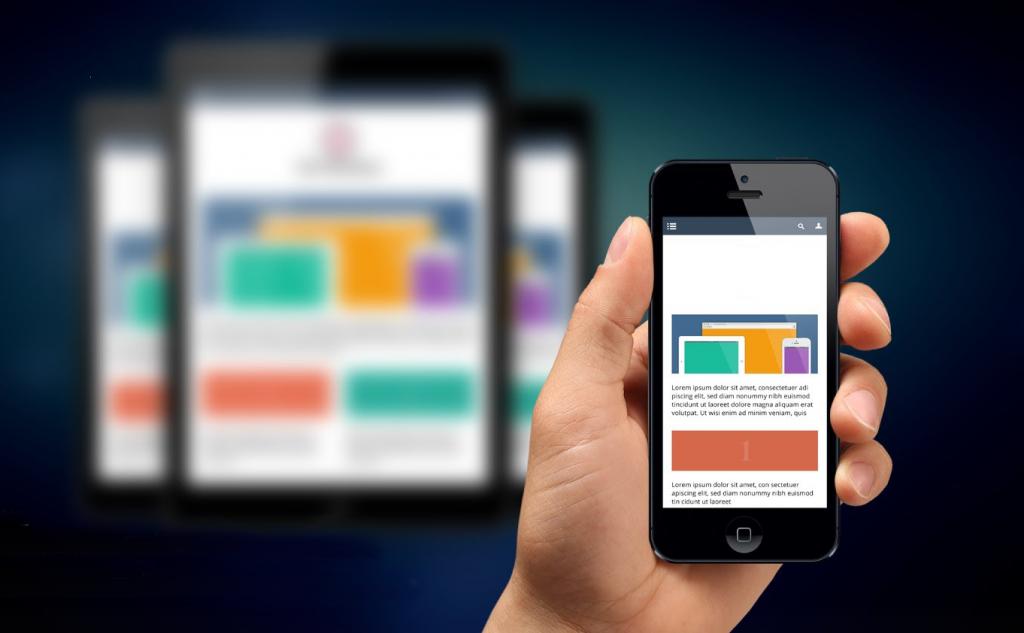 mobile friendly website