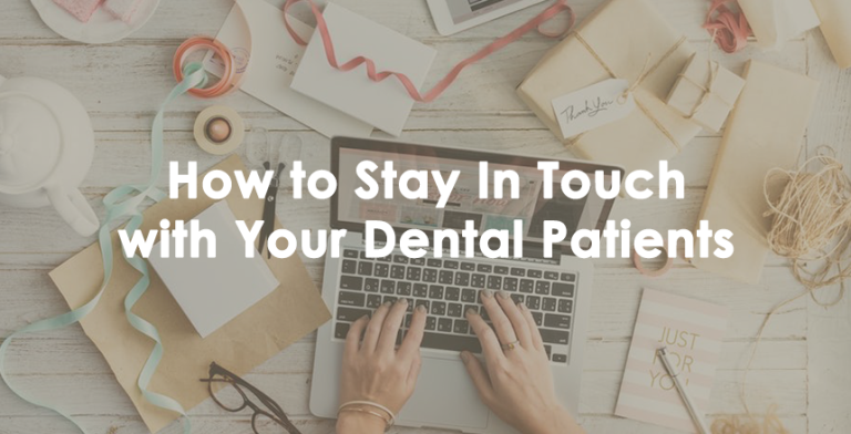 stay in touch with patients